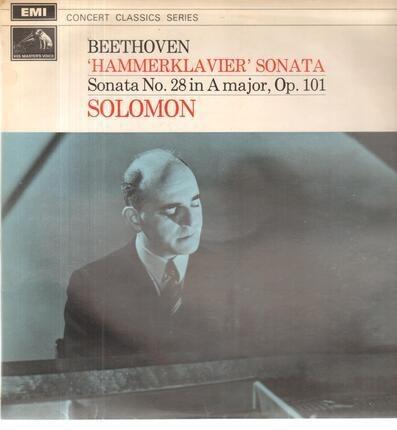 #<Artist:0x00007f12fb4f1b30> - Hammerklavier Sonata, Sonata No.28,, Solomon