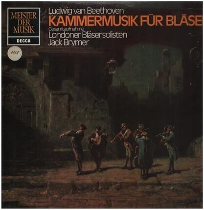 #<Artist:0x00007f4aa4cc6e88> - Kammermusik für Bläser,, Londoner Bläsersolisten, Jack Brymer