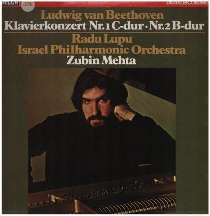 #<Artist:0x00007f7e1ce145f0> - Klavierkonzert Nr.1 C-dur, Nr.2 B-dur,, Radu Lupu, Israel Philh Orch, Zubin Mehta