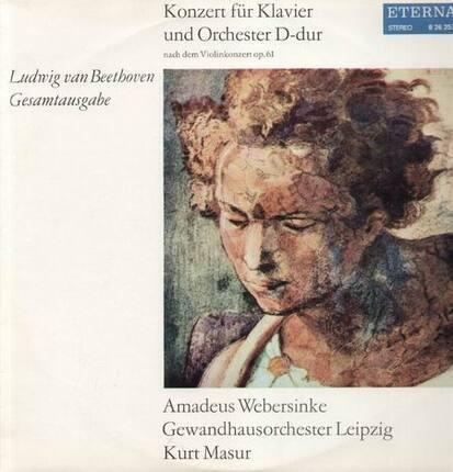 #<Artist:0x00000000072aa538> - Konzert für Klavier und Orch D-dur,, Amadeus Webersinke, Gewandhausorch Leipzig, Masur