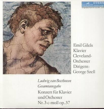 #<Artist:0x00007f6eaf163378> - Konzert für Klavier und Orch Nr.3 c-moll op.37,, Emil Gilels, Cleveland Orch, Szell