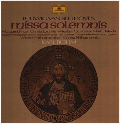 #<Artist:0x00007fc4211454a0> - Missa Solemnis,, Wiener Philh, Böhm, M.Price, Ludwig, Ochman, Talvela