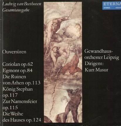 #<Artist:0x00007f4a84d90f50> - Ouvertüren-Coriolan op.62...,, Gewandhausorch Leipzig, Masur