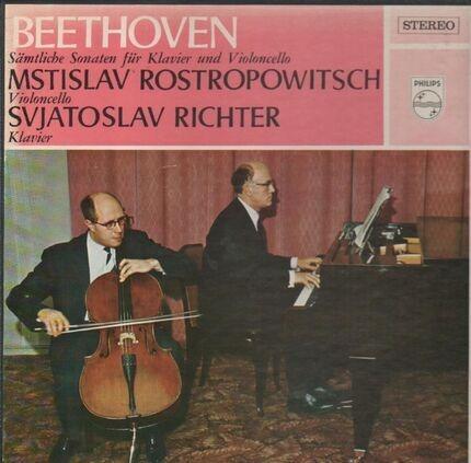#<Artist:0x00007f7e08fdc040> - Sämliche Sonaten für Klavier und Violoncello (Richter,..)