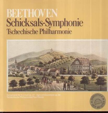 #<Artist:0x00007fbd6b3a0a40> - Schicksals-Symphonie,, Tschechische Philharmonie, P. Kletzki