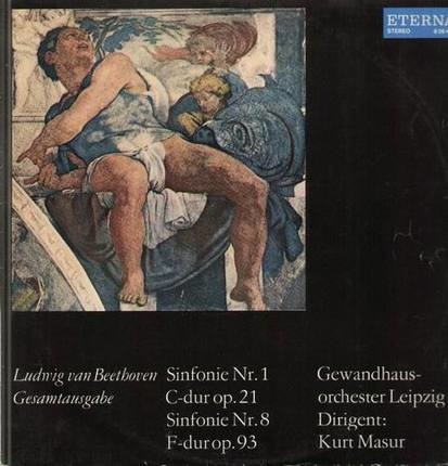 #<Artist:0x0000000006d5fec0> - Sinfonie Nr.1 C-dur op.21, Sinfonie Nr.8 F-dur op.93,, Gewandhausorch Leipzig, Masur