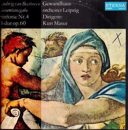 #<Artist:0x0000000007a18220> - Sinfonie Nr.4, B-dur op.60,, Gewandhausorch Leipzig, Masur