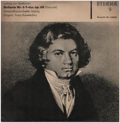 #<Artist:0x00007f7e1f43dba0> - Sinfonie Nr.6 F-dur op.68, Gewandhausorch Leipzig, Konwitschny