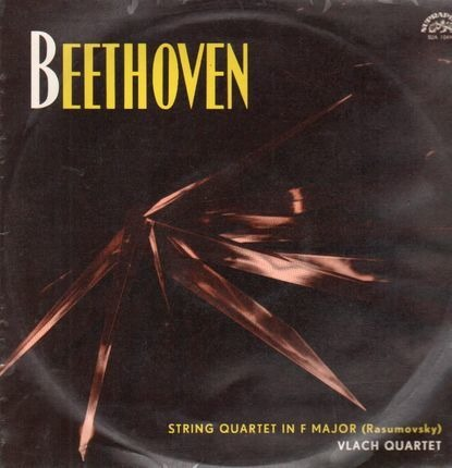 #<Artist:0x00007f4a7de940e8> - String Quartet in F Major (Rasumovsky),, Vlach Quartet