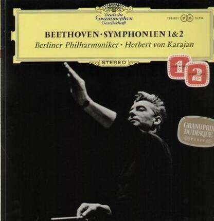 #<Artist:0x00007f17a1abfc10> - Symphonien 1&2,, Berliner Philh, Karajan
