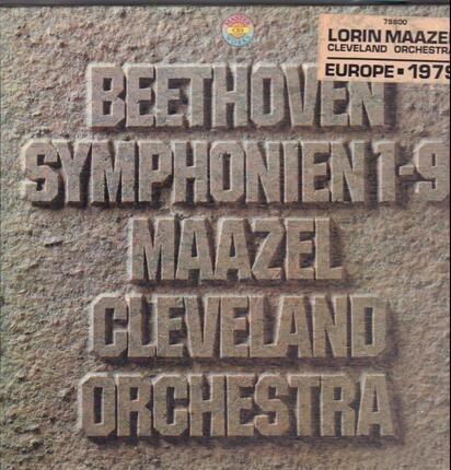 #<Artist:0x00007f999b8b3940> - Symphonien 1-9; Maazel Cleveland Orchestra