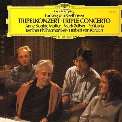 #<Artist:0x00007f7e1eeba908> - Tripelkonzert,, Mutter, Zeltser, Yo Yo Ma, Berliner Philh, Karajan