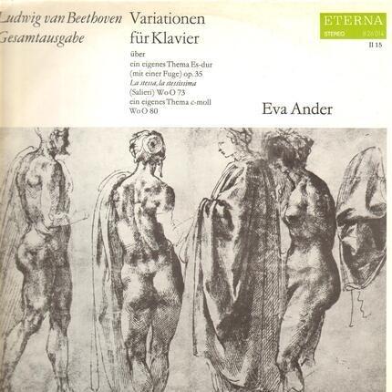 #<Artist:0x00007f814c3c4c48> - Variationen für Klavier; Eva Ander
