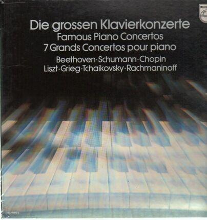 #<Artist:0x00007f4aa4044a70> - Die grossen Klavierkonzerte