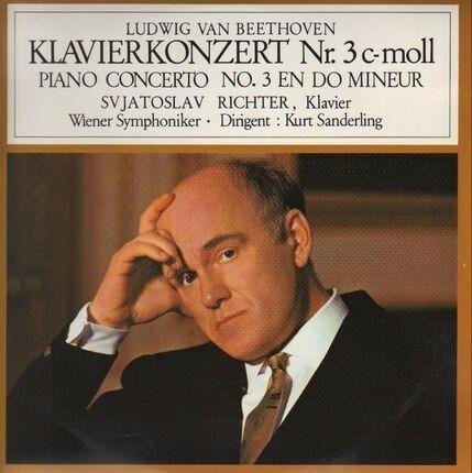 #<Artist:0x00007f762b990c98> - Klavierkonzert Nr.3 c-moll,, S. Richter, Wiener Symph, K. Sanderling