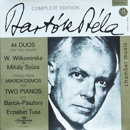 #<Artist:0x00007f41138783d0> - 44 Duos For Two Violins / 7 Pieces From Mikrokosmos For Two Pianos