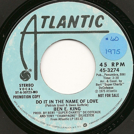 #<Artist:0x00007fcee2d487b8> - Do It In The Name Of Love