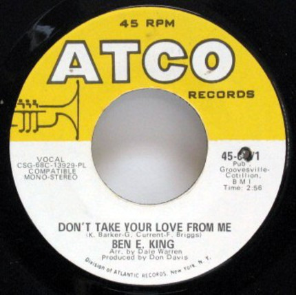 #<Artist:0x00007fcee3012f70> - Don't Take Your Love From Me