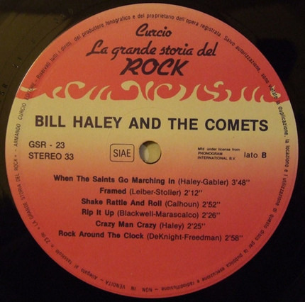 #<Artist:0x00007f20be653d40> - Bill Haley and the Comets