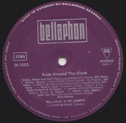 #<Artist:0x00007fcee39c8ee8> - Rock Around the Clock