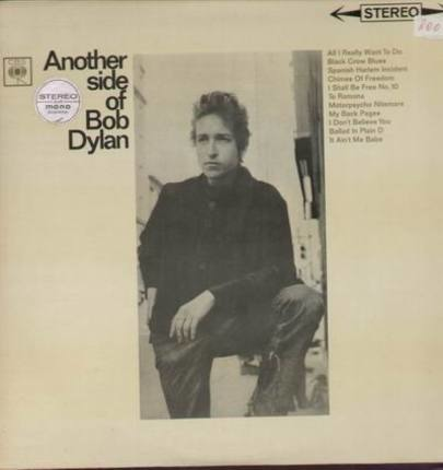 #<Artist:0x00007fb543d7ec40> - Another Side of Bob Dylan