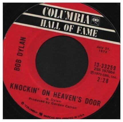 #<Artist:0x00007f4a84465660> - Knockin' On Heaven's Door / A Fool Such As I