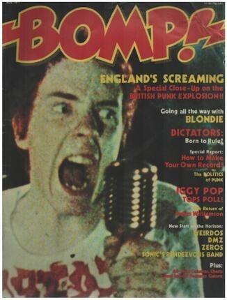 #<Artist:0x00007f1b2950e858> - 11/1977 -  Johnny Rotten