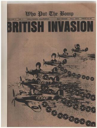 #<Artist:0x00007f3697dd18a8> - Who Put The Bomp - British Invasion Vol. 3  No.1