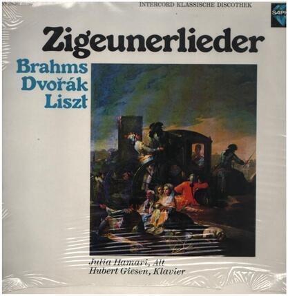 #<Artist:0x00007fcee1cee7f0> - Zigeunerlieder,, Julia Hamari, Hubert Giesen