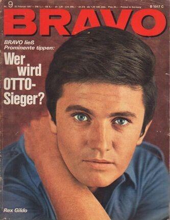 #<Artist:0x00007fd8138889a0> - 09/1967 - Rex Gildo
