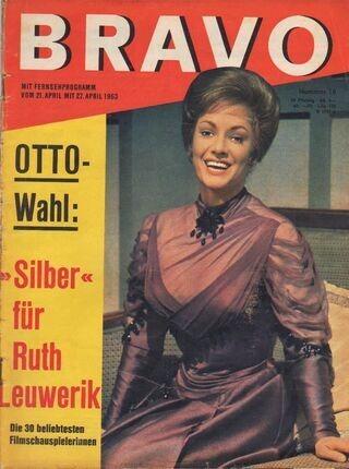 #<Artist:0x00007fab93969588> - 16/1963 - Ruth Leuwerik