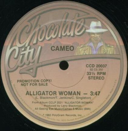 #<Artist:0x00007fcec3d159b8> - Alligator Woman