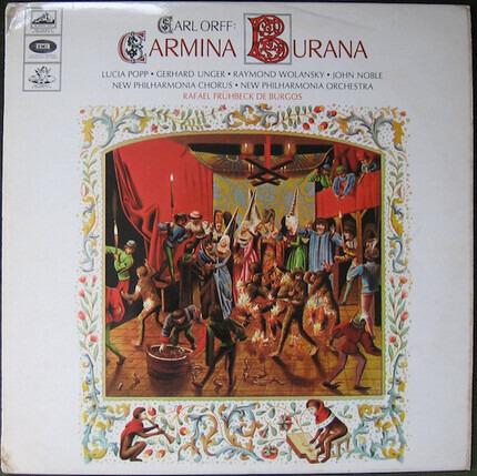 #<Artist:0x00007f7942a13020> - Carmina Burana, Cantiones Profanae