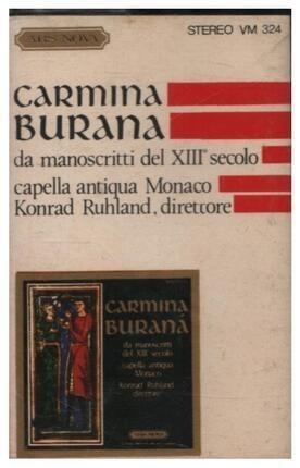 #<Artist:0x00007fcee24d85b0> - Carmina Burana