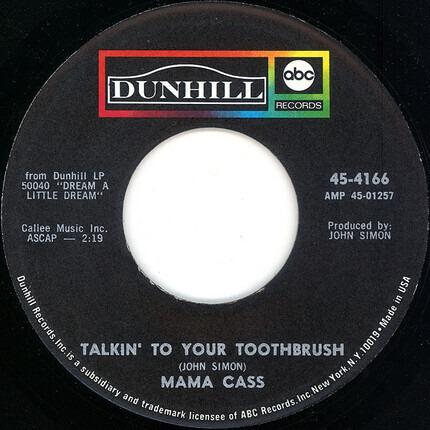 #<Artist:0x0000000007cd6de0> - California Earthquake / Talkin' To Your Toothbrush