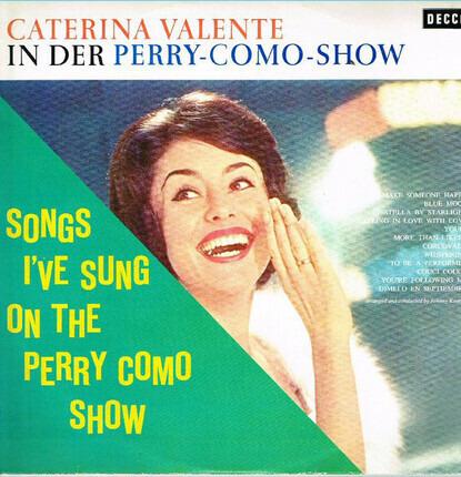 #<Artist:0x00007f5bbd378690> - In Der Perry-Como-Show