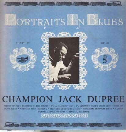 #<Artist:0x00007f48235b9650> - Portraits In Blues Vol. 5