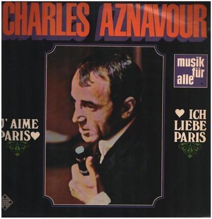 #<Artist:0x00007f8cb14df6f8> - J'aime Paris Ich liebe Paris