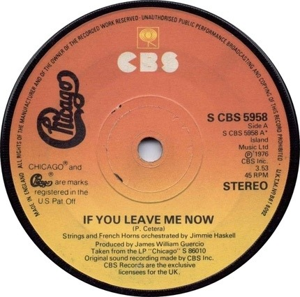 #<Artist:0x00007fcee3e19dd0> - If You Leave Me Now