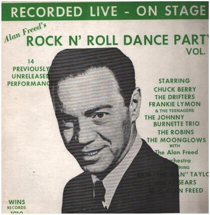 #<Artist:0x00007fcee1036e40> - Alan Freed's Rock N' Roll Dance Party
