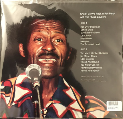 #<Artist:0x00007fcee1644c10> - Chuck Berry's Rock N Roll Party