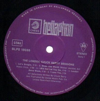 #<Artist:0x00007fcee3601508> - The London Chuck Berry Sessions