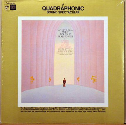 #<Artist:0x00007fe56d219508> - Antiphonal Music For Four Brass Choirs