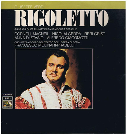 #<Artist:0x00007f60e3032ca8> - Rigoletto (Grosser Querschnitt In Italienischer Sprache)