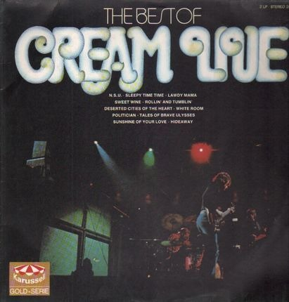 #<Artist:0x00007ff5d92759f8> - The Best Of Cream Live