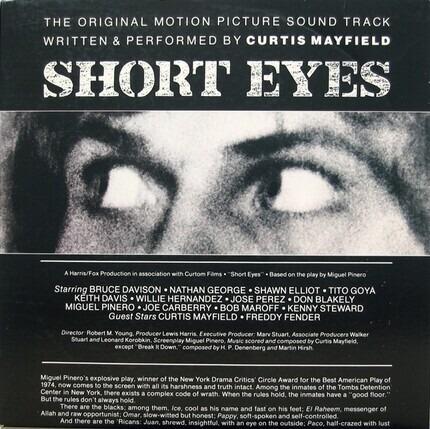 #<Artist:0x00000000077685e8> - Short Eyes - The Original Picture Soundtrack