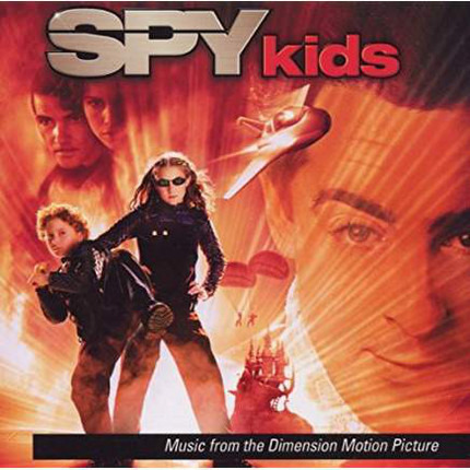 #<Artist:0x00007f13671ea880> - Spy Kids (Music From The Dimension Motion Picture)