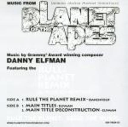 #<Artist:0x00007fbd86110030> - Planet Of The Apes Soundtrack