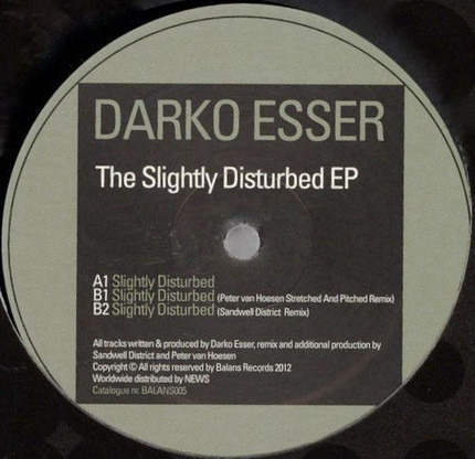 #<Artist:0x00000000081ac428> - Slightly Disturbed EP