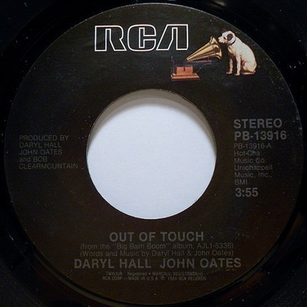 #<Artist:0x00007fcec0282e40> - Out Of Touch / Cold, Dark And Yesterday